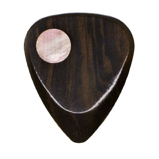 Planet Tones Black Mother of Pearl 1 Guitar Pick